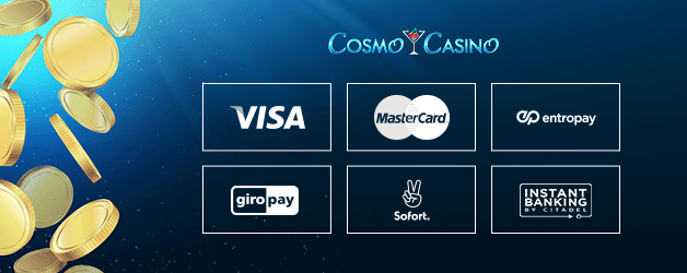 Cosmo Casino Zahlungsmethoden