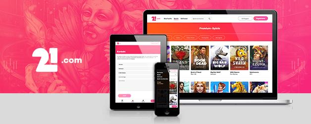 21.com Casino App
