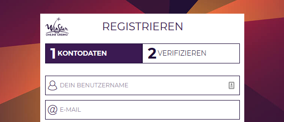 Winstar Casino Registrierung