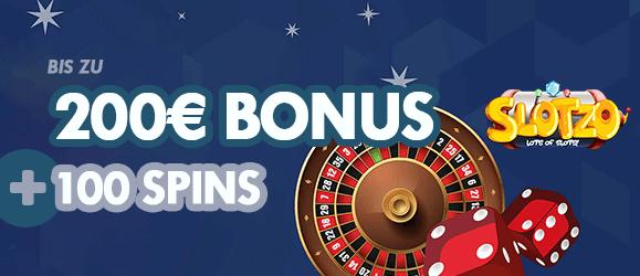 Slotzo Casino Bonus 200