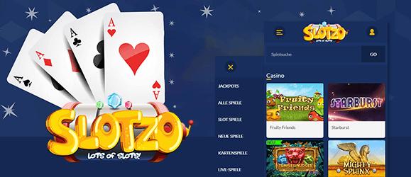 Slotzo Casino Mobil
