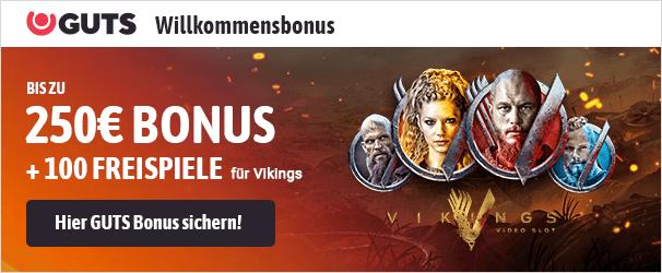 Guts Casino Bonus 250