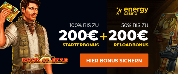 Energy Casino Aktionscode
