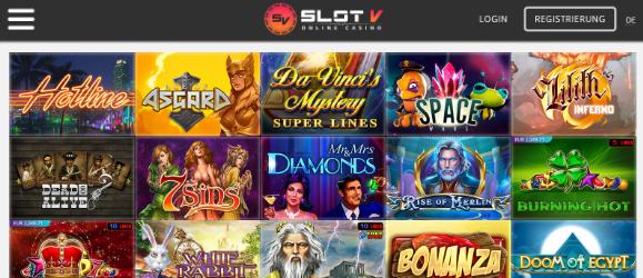 SlotV Spiele