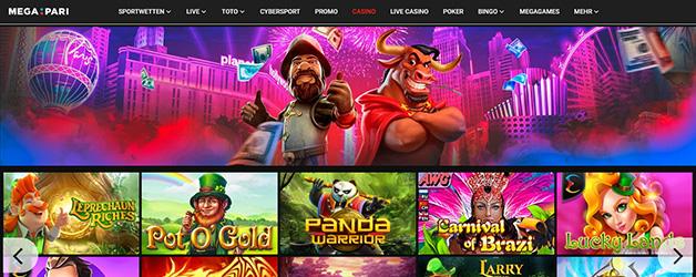 Megapari Casino Spiele