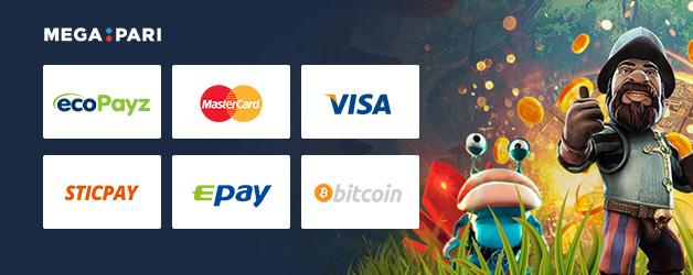 Megapari Casino Zahlung