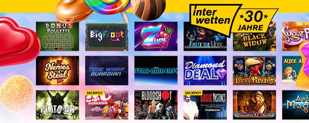 Interwetten Casino Spiele