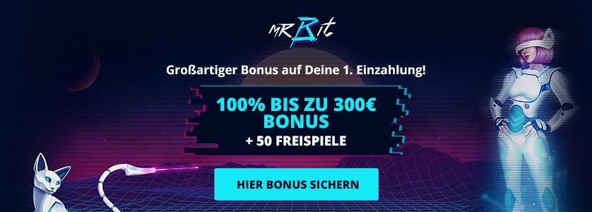 Mr Bit Casino Bonus