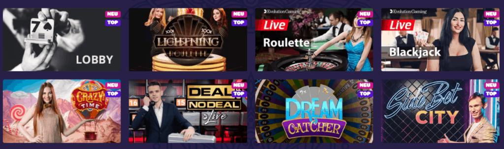 Samosa Live Casino