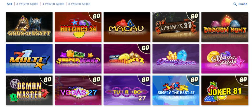 kajot casino spieleangebot
