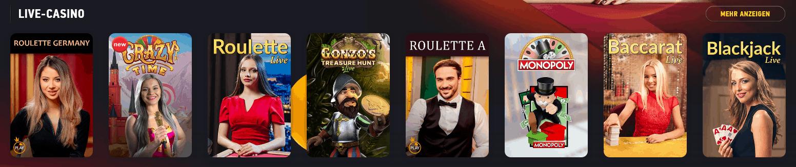 FezBet Live Casino