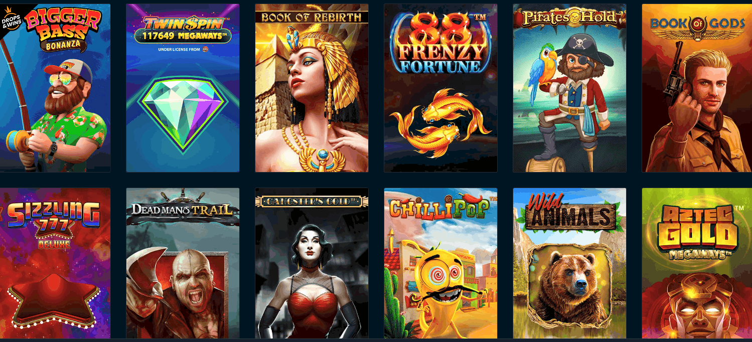 Rabona Casino Spieleangebot