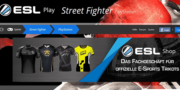 Street Fighter 5 Esport Wetten online