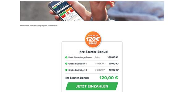 Wetten.com Esport Bonus Code