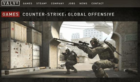 Valve Esport-Portal für CS:GO