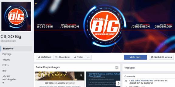 Clan Facebook-Seite BIG
