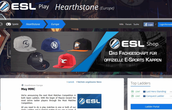 ESL Hearthstone News