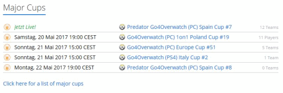 ESL Overwatch Events 2017