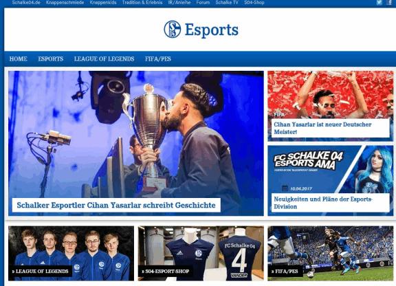 Schalke 04 Esport Wetten online
