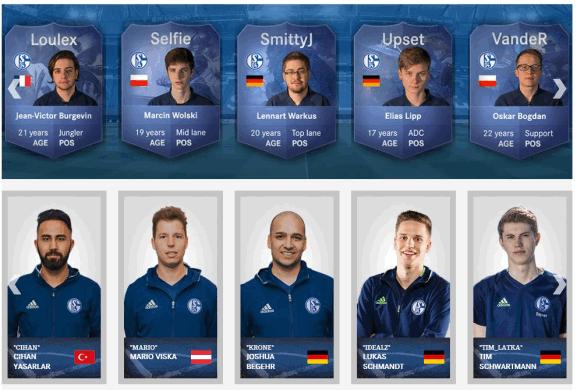 Schalke 04 Esport Kader