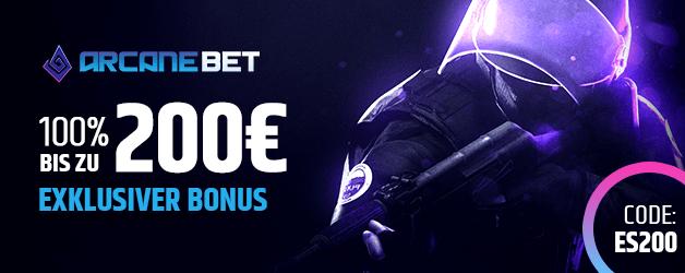 ArcaneBet Esports Bonus 200