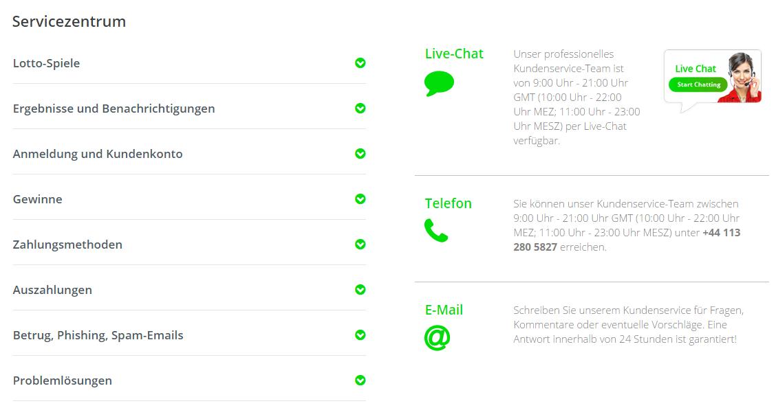 FAQs von Jackpot.com