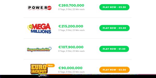 Lottoangebote