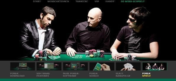 Pokerangebot auf bet365 Poker