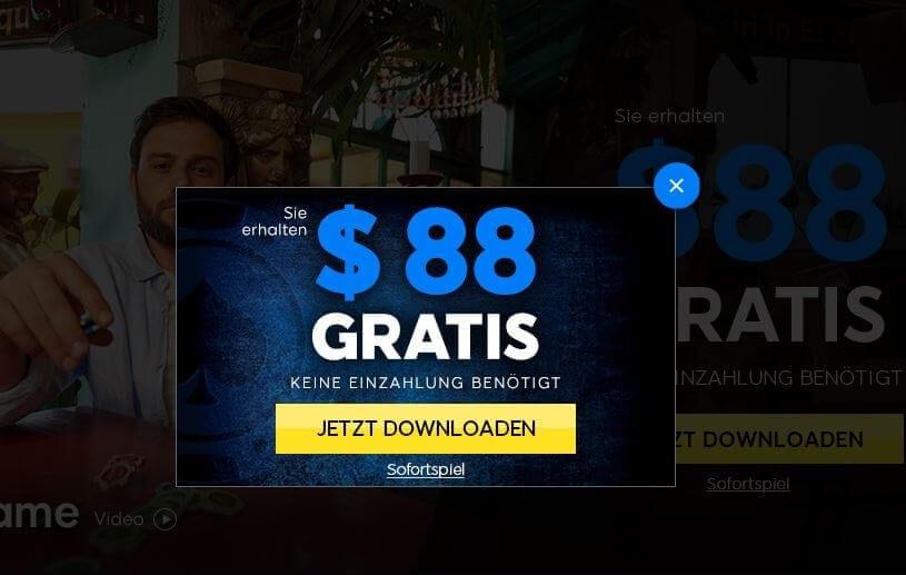 Neukundenbonus ohne Einzahlung von 888 Poker