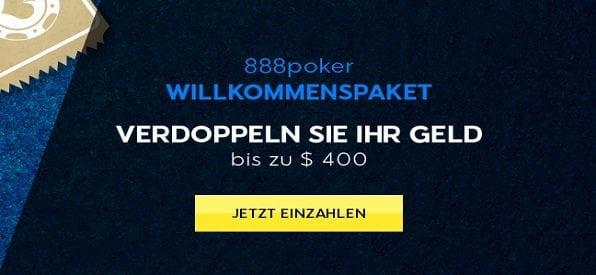 Einzahlungsbonus bei 888 Poker