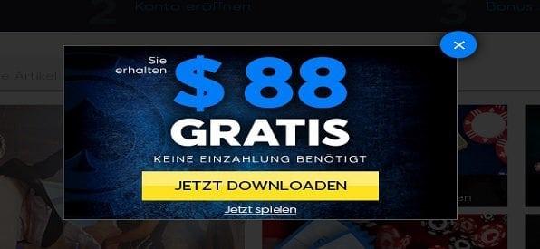 Poker Bonus ohne Einzahlung bei 888poker