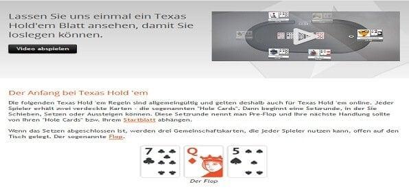 Partypoker Poker Regeln