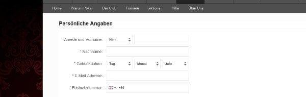 Konto-Eröffnung auf betvictor.com