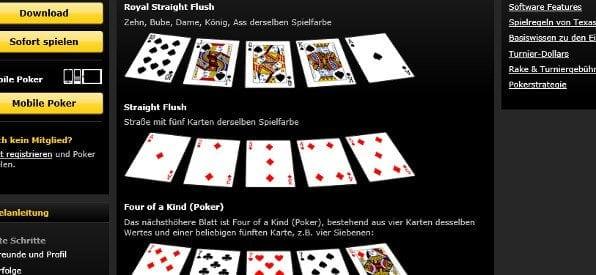 Pokerschule auf bwin.com