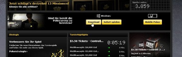 Poker Software Download auf bwin.com