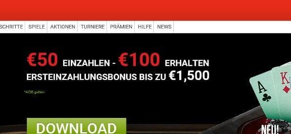 Ladbrokes Poker Neukundenbonus auf ladbrokes.com