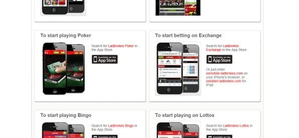 Poker Mobile Apps auf ladbrokes.com