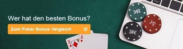 Poker Bonus sichern