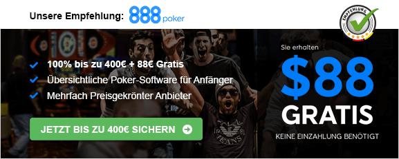 888poker Empfehlung Bonus