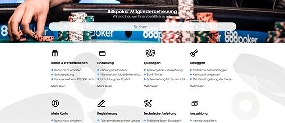 888poker Service