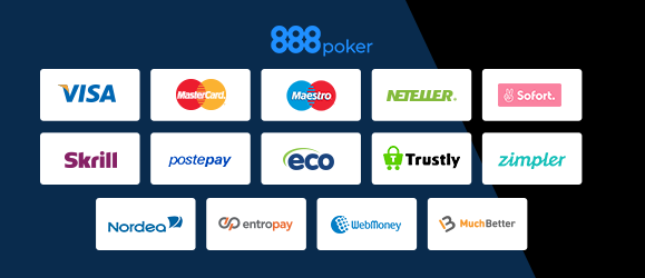 888 Poker Zahlungsmethoden