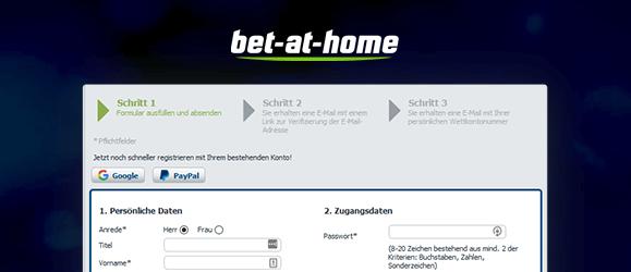 bet-at-home Poker Anmeldung