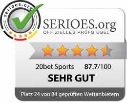 20bet Sports Siegel