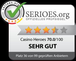 Casino Heroes Test