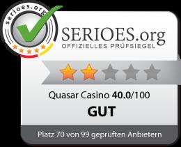 Quasar Casino Siegel