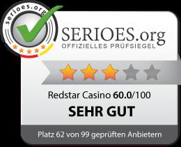 Redstar Casino Siegel