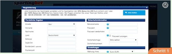 Sportingbet_anmeldung_schritt1