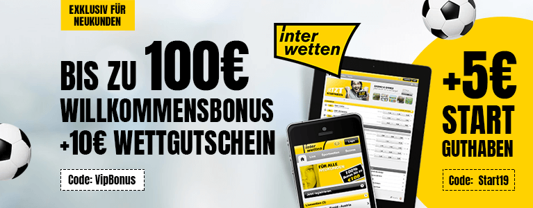 Interwetten Sport Bonus 115 Start19