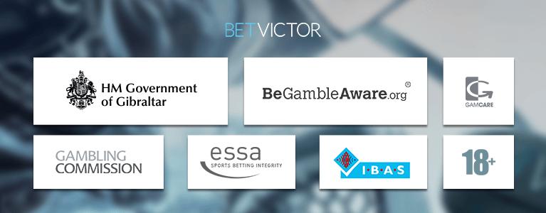 BetVictor ist in Gibraltar registriert und lizenziert