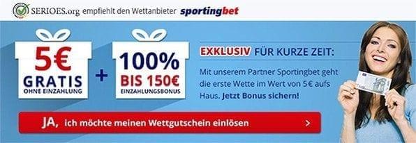 Sportingbet Bonus Empfehlung